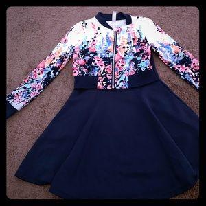 Girls dress with jacket